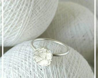 Silver ring/Elegant Ring / Gift Ring / Ring Button