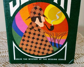 Sleuth vintage card game. 1971 for the 3M Company. Solve the mystery  All cards accounted for and in excellent condition.