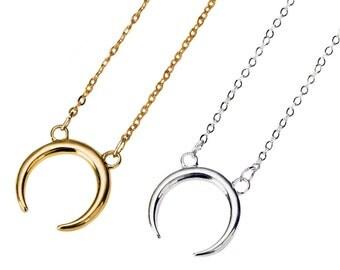SALE!!  Crescent Moon necklace