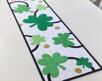 St. Patrick's Table Runner Quilt Pattern