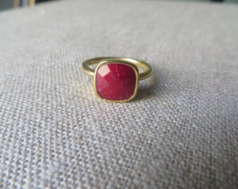 Ruby & Gold Ring