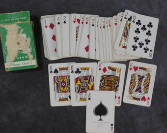 Vintage Tom Thumb Junior Miniature Playing Cards Made in USA
