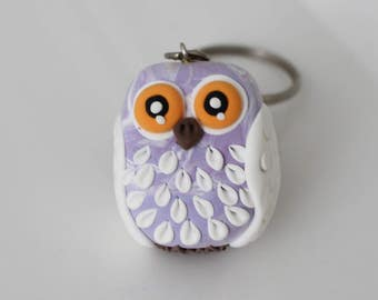 Marble style lilach owl