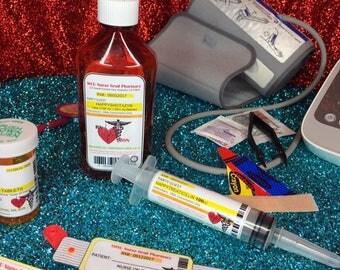 NURSE Grad Party Syringe Favors - Shot Favors - Doctor Party Favors