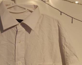 Regent Street- corduroy style- beige 80's-90's style- men's shirt