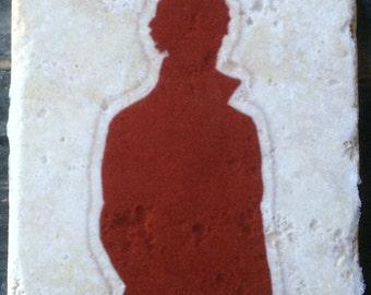 OVERSTOCK SALE: Sherlock Outline Cumberbatch Coaster or Decor Accent
