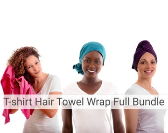 T Shirt Hair Towel Wraps Satin Lined Beanies Amp More By