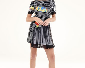 NEW COLLECTION printed womens dress organic cotton