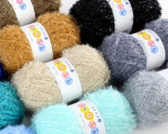 Body & Dish Scrubber Yarn , Polyester Scrubbies Yarn