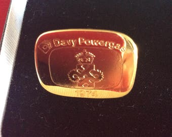 Cuff links Davy Powergas 1974