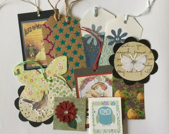 Gift tags, Variety tags, Grab bag tags, paper products, mixed paper goods, gift cards