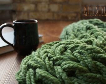 Infinity Scarf, Arm Knit Scarf, Spring/Fall/Winter Warm Scarf