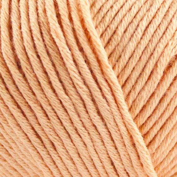 STRIKDET Organic Cotton - apricot / Økologisk Bomuld - abrikos