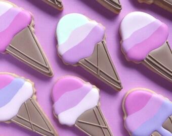 Ice Cream Cone Sugar Cookies