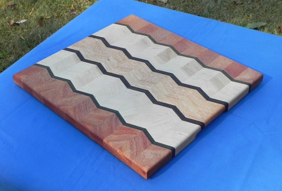 Items similar to handcrafted laminated cutting board on etsy
