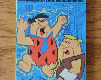1974 Hanna Barbera's The Flintstones The Computer that Went Bananas Book