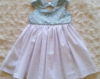 "SALE Tea Party dress 'Emma"" Size 1"