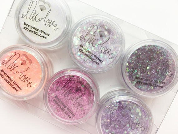 I love Pinks Cosmetic Face Glitter Set