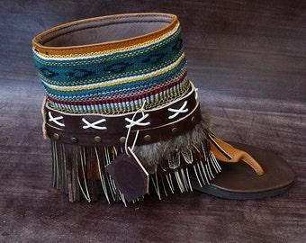 Sandals Boho Handmade Nepuk