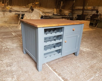 Island Unit Bespoke Handmade in England- Made to order
