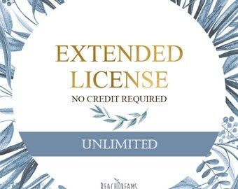 Commercial License NO Credit required / Unlimited present and future sets