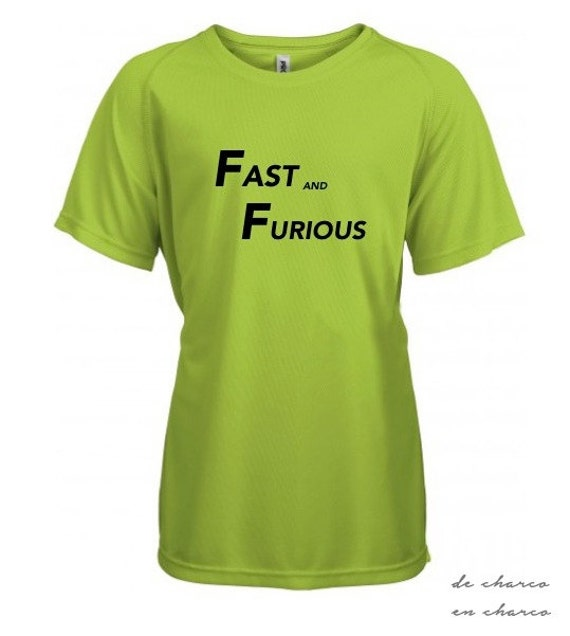 Running round neck kids t-shirt FASTA AND FURIOUS
