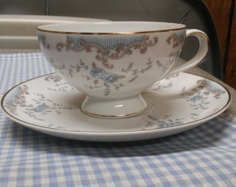 B Dalton Seville China Tea Cup and Saucer