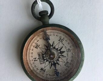 Vintage LEEDAWL Compass 1915