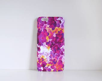 Pink Floral iPhone 5s or iPhone 6s case, Abstract Blossom iPhone 5 Case, iPhone 6 Case
