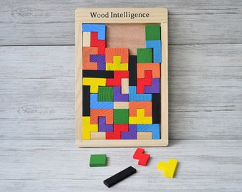 Wooden educational puzzle, Board Toy Gifts, Children toys, Wooden Puzzle cubes,  Еducation toys, Wooden toys,  Puzzle for Children
