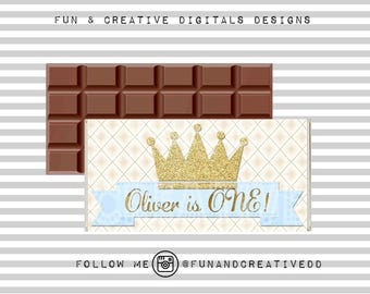 Prince Crown Chocolate wrapper