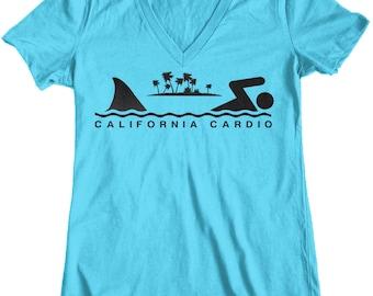 Women's California Cardio Shark Week T-Shirt