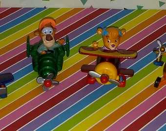 Vintage Lot of 4 1990s McDonald's Tailspin Toys