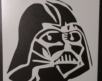 Darth Vader #1 Star Wars Rogue One Custom Stencil FAST FREE SHIPPING