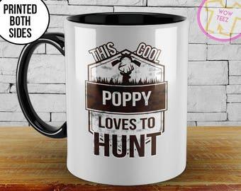 Poppy Mug. Mug for Poppy, Poppy Gift, This Cool Poppy, Fathers Day, Personalized Mug, Grandparents Gift, Personalized Poppy