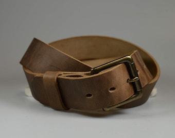 custom sized belt 1 5 width horween chromexcel