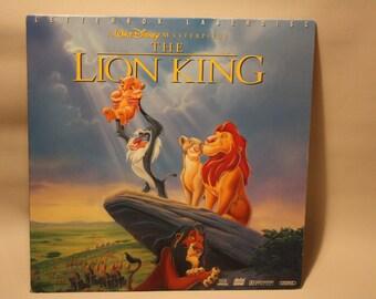 "Vintage Laserdisc Movie ""The Lion King"""