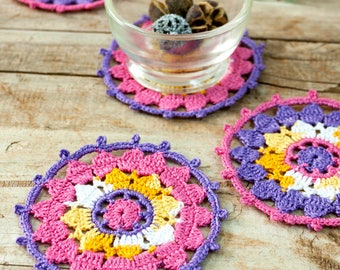 Crochet decoracion etsy es for Decoracion hogar a crochet