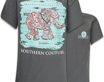 Southern Couture Paisley the Elephant, Simply Southern Style