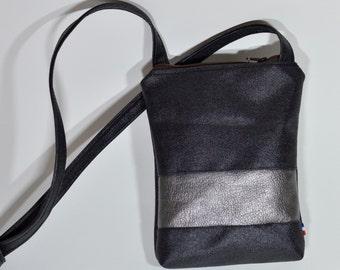 Small travel Crossbody.Travel purse.Canvas Cellmate.petit sac bandouliere.sac voyage.travel mate.purse on the go.crossbody bag.small bag.