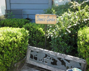 Garden Rustic Wood Signs Garden Signs Garden Decor
