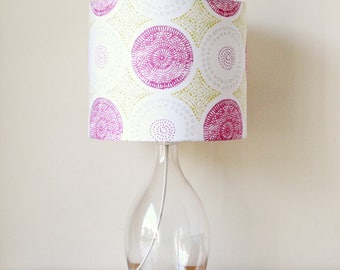 Vintage Crochet Doily Handmade Stand Lampshade