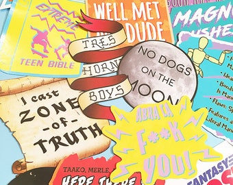 CHOOSE ANY 2 Adventure Zone Stickers