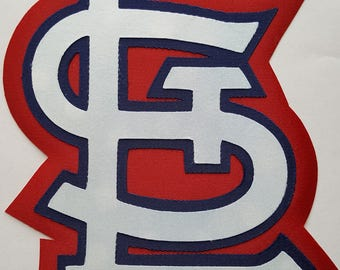 Huge St. Louis Cardinals Iron On Patch