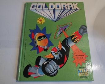 """Album Goldorak """"Réédition 1-2-3"""" en français 1978"""