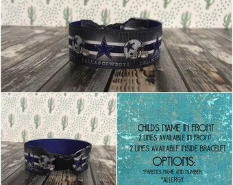 Childs ID bracelet, kids i.d bracelet
