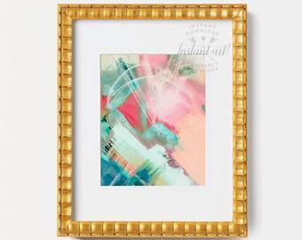 Modern painting, PRINTABLE art, Abstract wall art, Abstract art, Colorful art, Modern art, Abstract painting, Brushstroke art,Abstract print