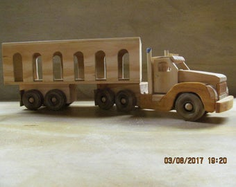 Toy Livestock Truck With Livestock
