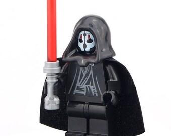 Darth Nihilus Star Wars Custom Minifigure 100% Lego Compatible!