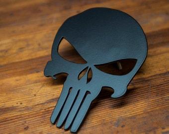 Punisher Steel Grill Emblem